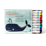 WIshy Washy Markers - 9 piece assorted pack