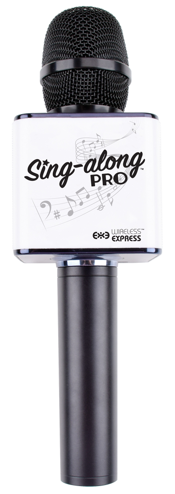 Sing Along Pro Bluetooth Karaoke Microphone - Black