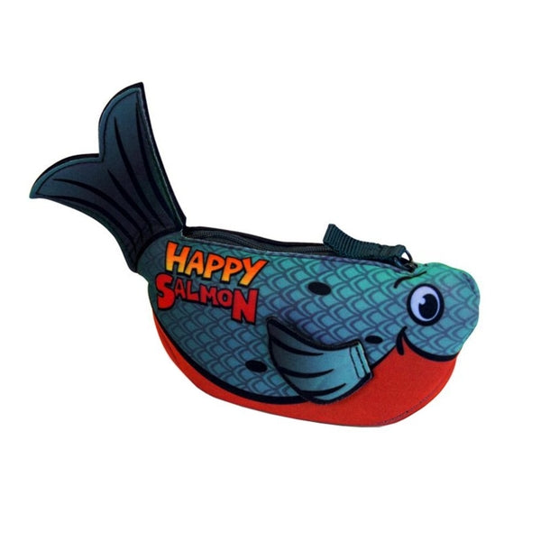 Happy Salmon - Blue Fish Edition