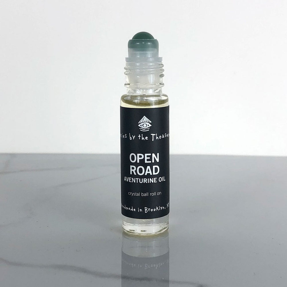Open Road Aventurine Oil - Crystal Roller Perfume Oils