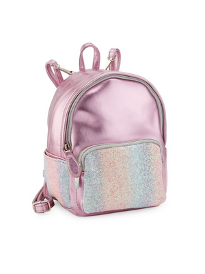 Glitter Front Mini Fashion Backpack