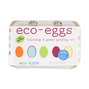 eco-eggs coloring and grass growing kit
