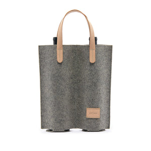 Cozy Carrier Duo - Felt/Leather