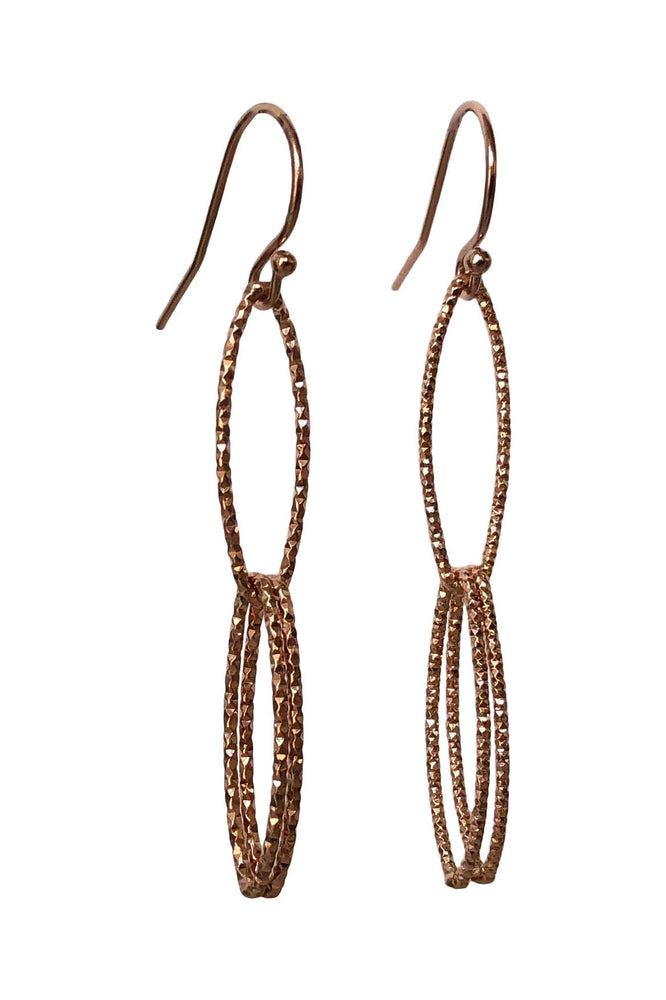 Marquise Double Link Earrings