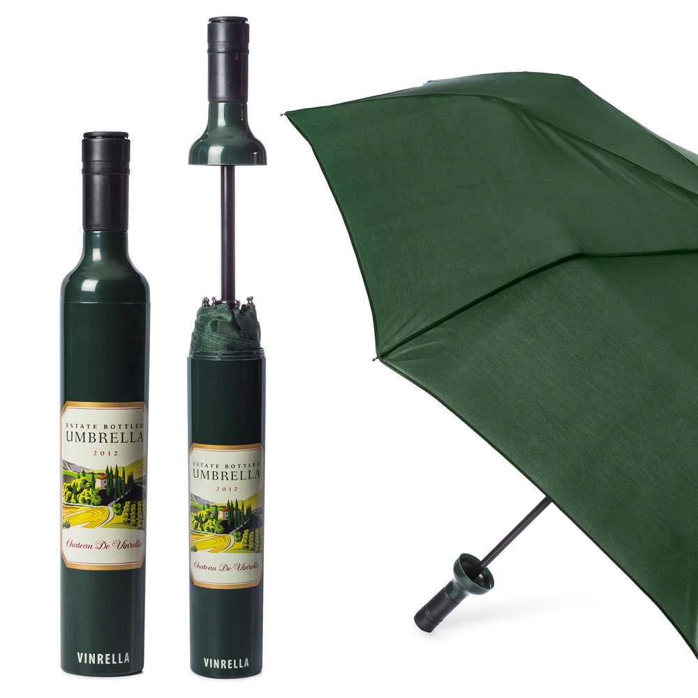 Wine Label Bottle Umbrella