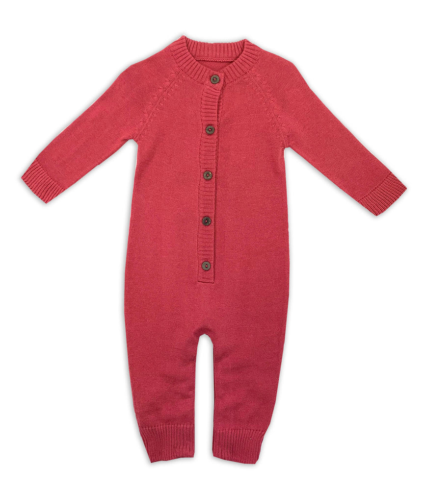Marseille Knit Button Coverall
