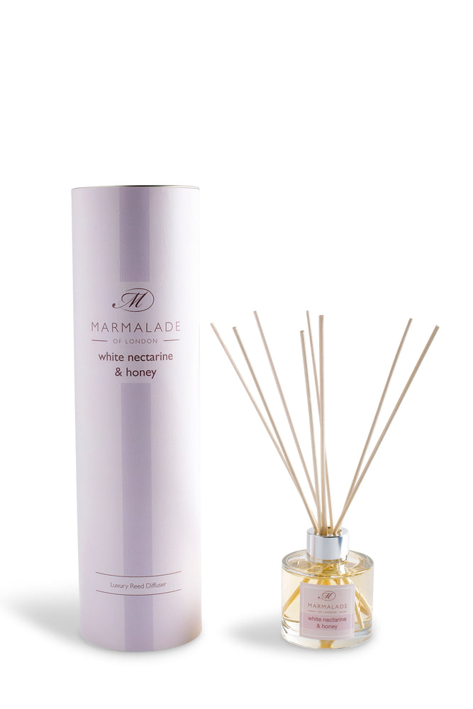 White Nectarine & Honey Reed Diffuser