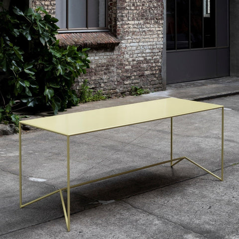 Campi di Colore - Table Giallo  Out- / Indoor