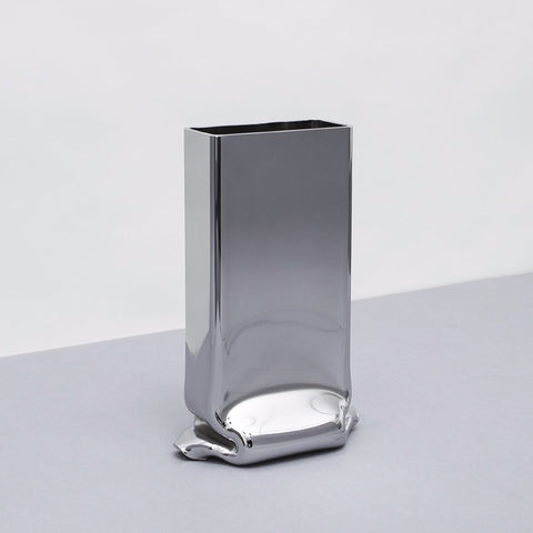 Pressure Vase Rectangular  Chrome