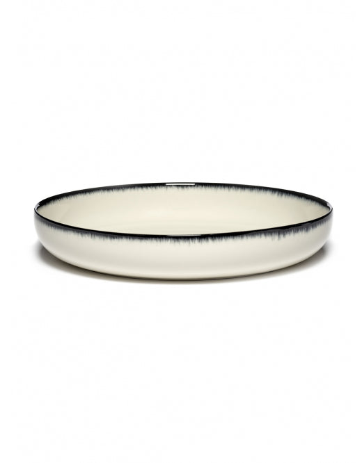 DÉ HIGH PLATE D24 CM  OFF-WHITE/BLACK VAR A