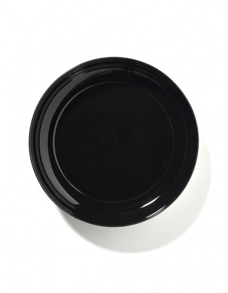 DÉ HIGH PLATE D24 CM  OFF-WHITE/BLACK VAR B