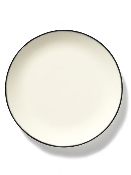 DÉ PLATE D28 CM  OFF-WHITE/BLACK VAR 1