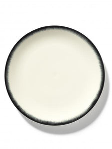 DÉ PLATE D28 CM  OFF-WHITE/BLACK VAR 3
