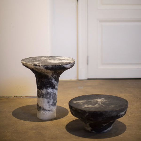 Marbled Salts - Low Stool