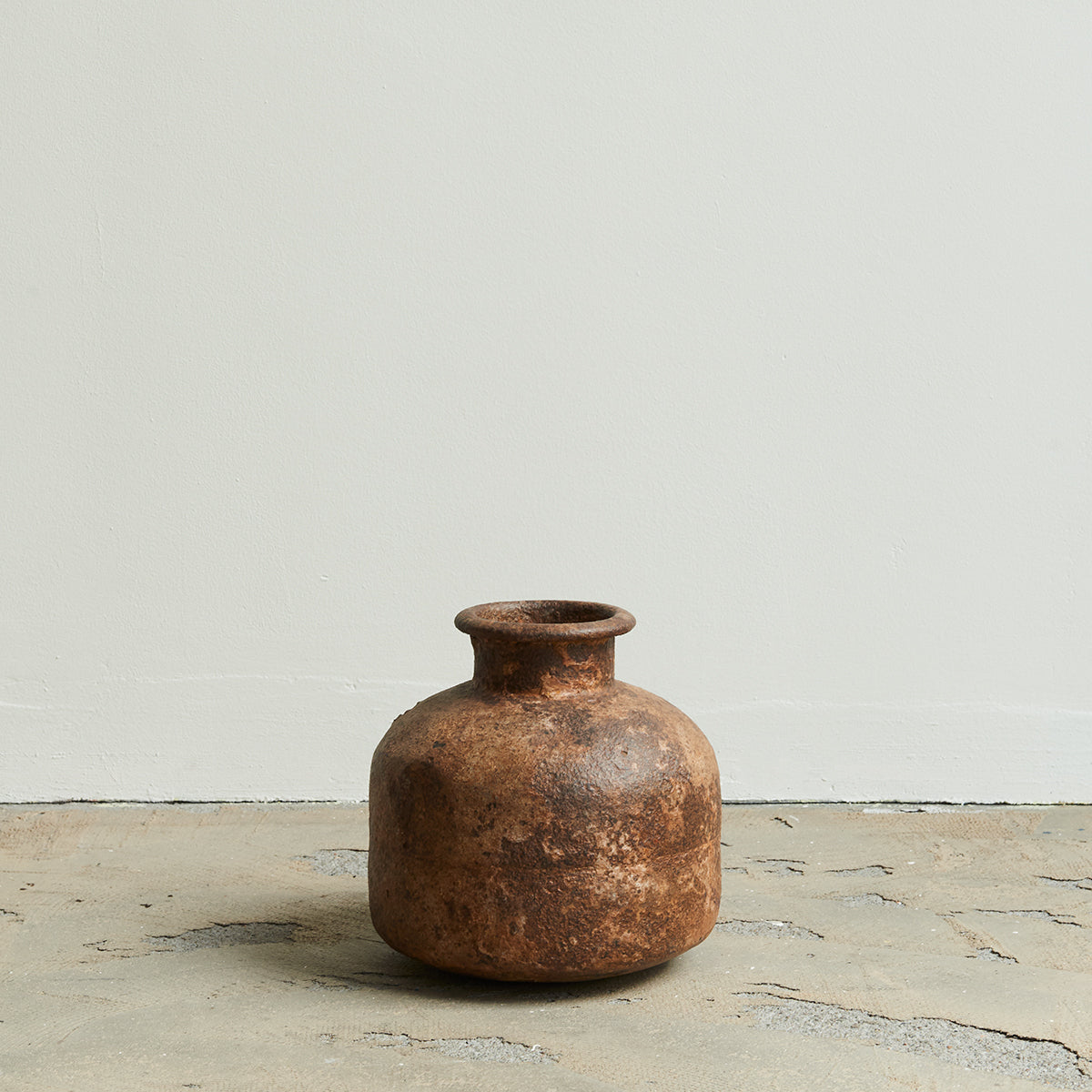 Old Metal Jar