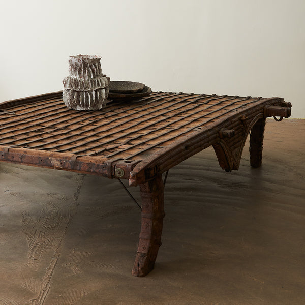 Bullock cart - coffee table
