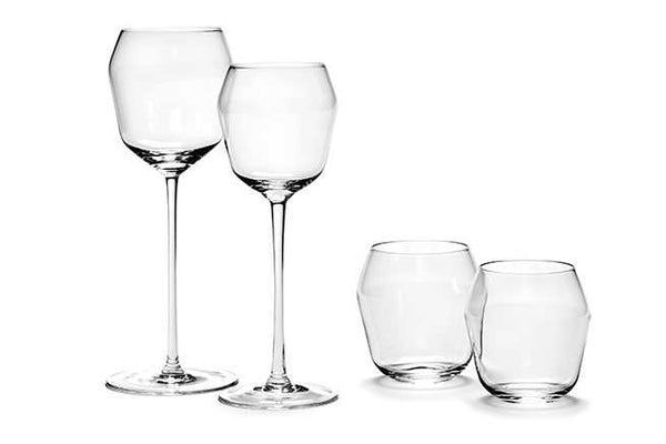 BILLIE  SET of 4 GLASSES Waterglass 25cl