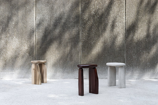 Windows of Bo Bardi - Lacquered Wood stool