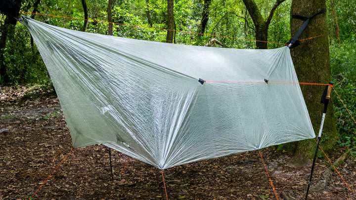 11.5 ft Dyneema DCF Tarp with Doors - R&R Hammocks LLC