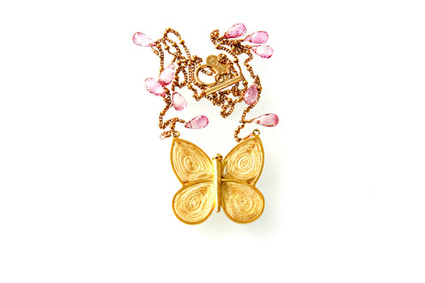 Small Lucky Butterfly Necklace