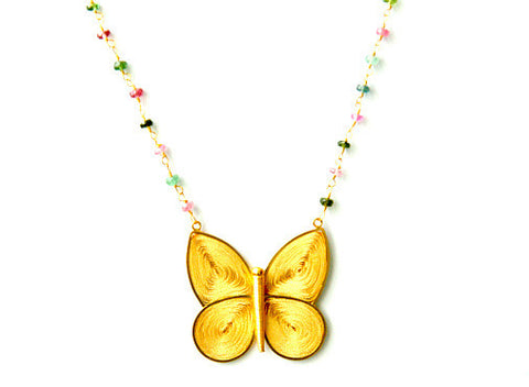 Lucky Butterfly Necklace