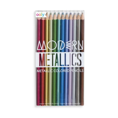 Metallic Colored Pencils 12pk