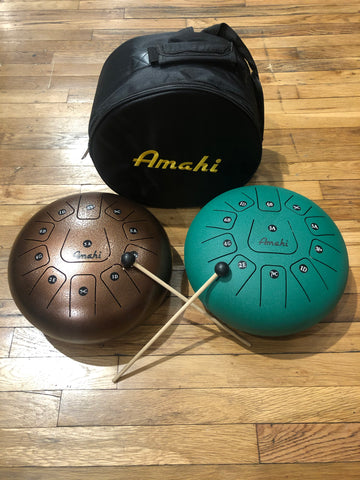 "12"" Tongue Drum with Bag"