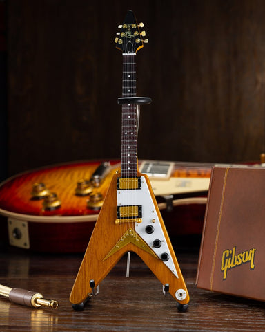 1958 Korina Flying V Natural Finish Replica