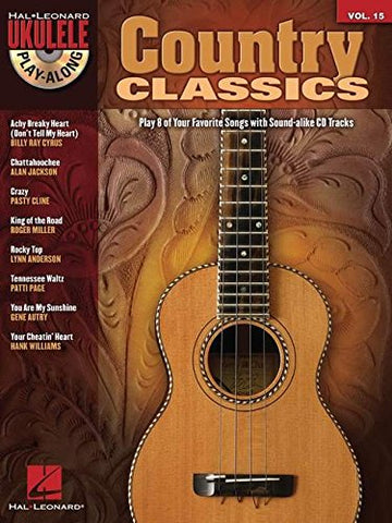 Country Classics: Ukulele Play-Along Volume 15