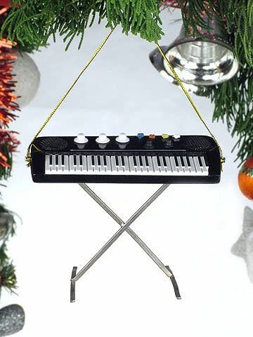 Electric Keyboard Ornament