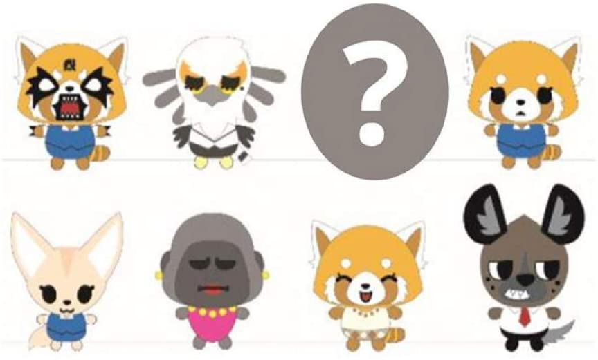 Aggretsuko Plush Blind Box Series SINGLE