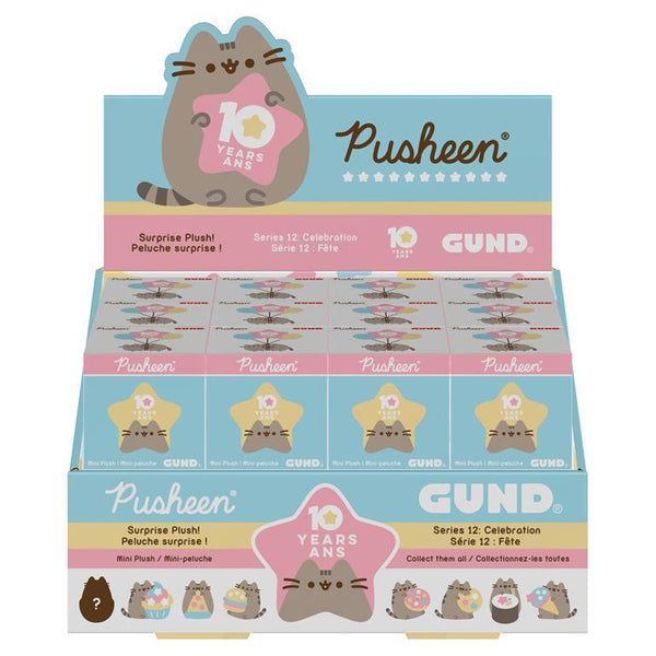 Pusheen Blind Box Celebration Series:  Plush Clip SINGLE
