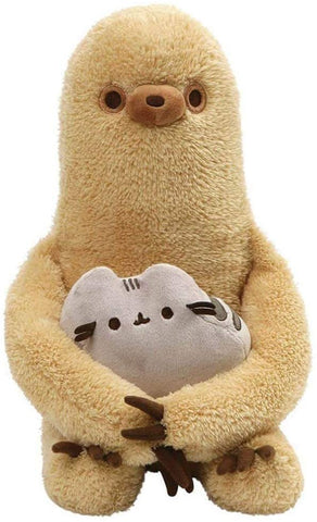 Sloth with Pusheen Plush