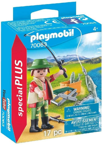 Playmobil Fisherman with Accessories