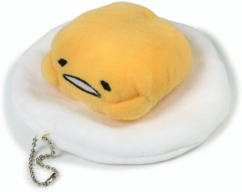 Gudetama Talking Keychain