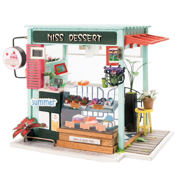 Rolife DIY Miniature House: Ice Cream Station