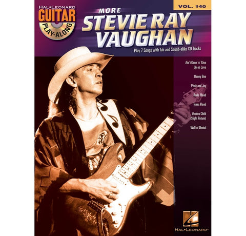 Hal Leonard More Stevie Ray Vaughan - Guitar Play-Along Volume 140 Book/CD