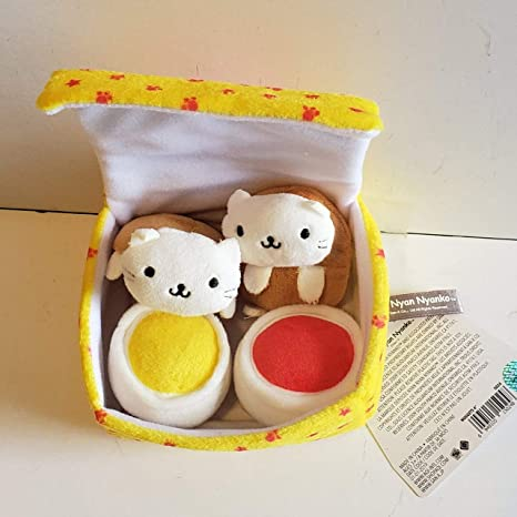 Nyanko Nuggets Plush Set