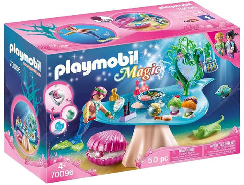 Playmobil Mermaid Beauty Salon with Jewel Case