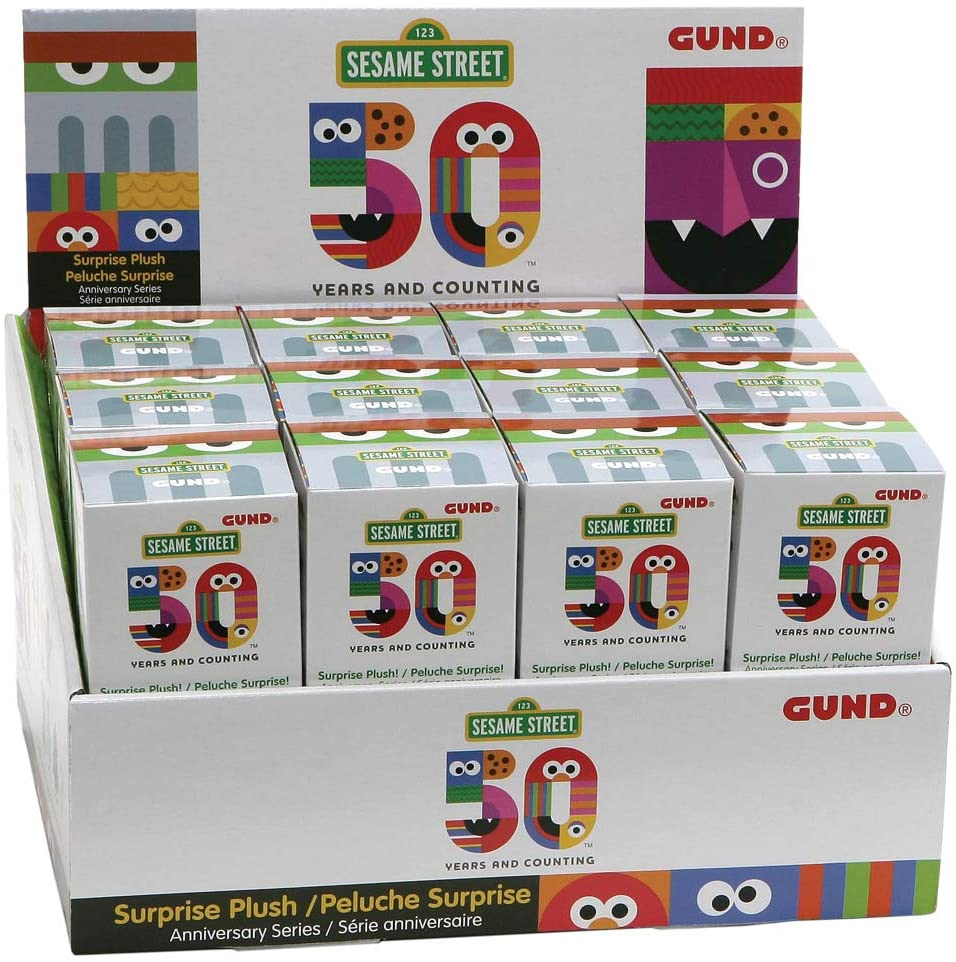 Sesame Street 50th: Plush Blind Box Series SINGLE