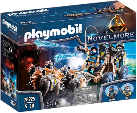 Playmobil Novelmore Wolf Team with Cannon