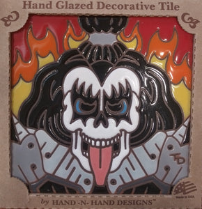 KISS Demon Day of the Dead Tile