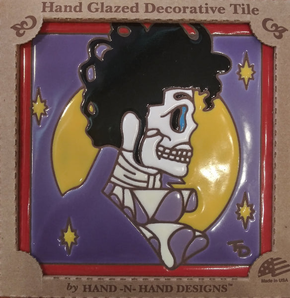 Prince Day of the Dead Tile
