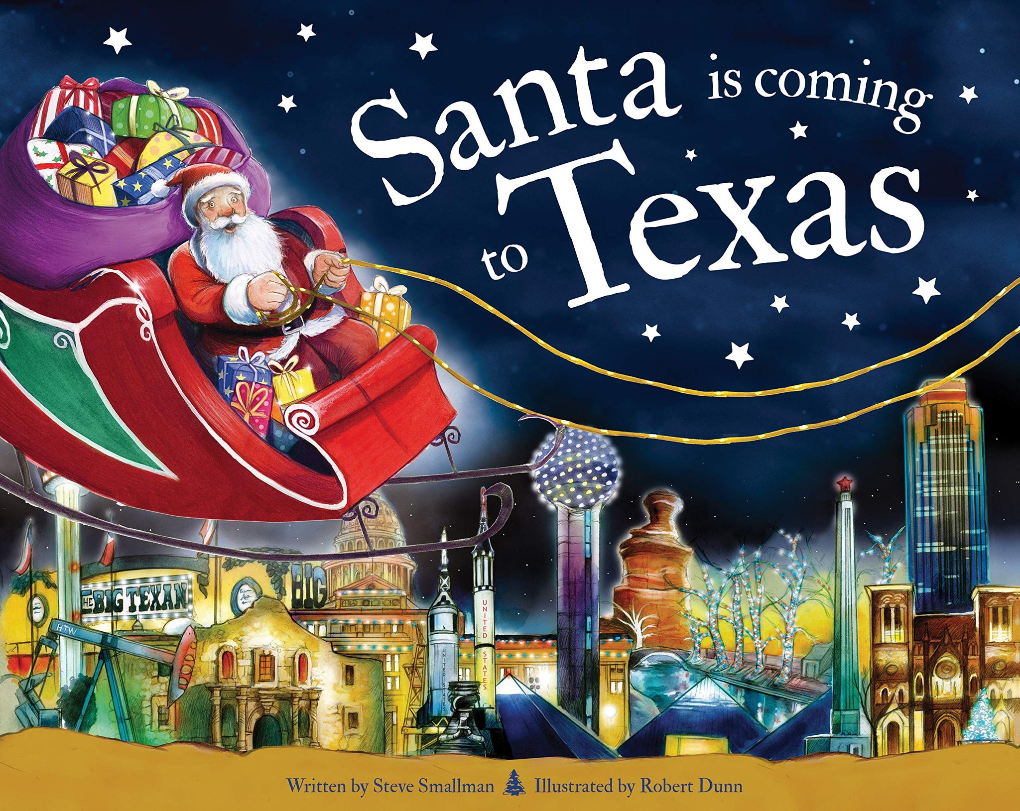Santa Is Coming to Texas