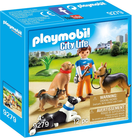 Playmobil Dog Trainer and Dogs