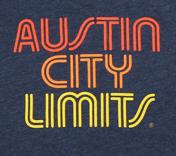 ACL Sunset Logo on Navy T-Shirt