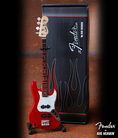 Fender Red Jazz Bass Replica