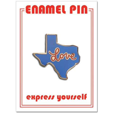 Love Texas Pin