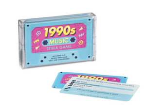 1990's Trivia Cards