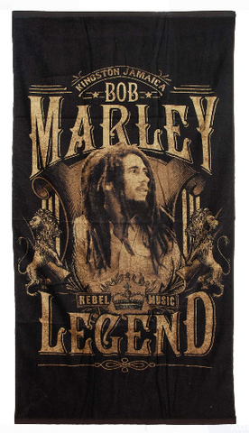 Bob Marley Legend Beach Towel